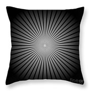 Star Black Throw Pillow