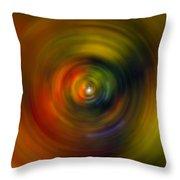 Star Cradle Spin Art Throw Pillow