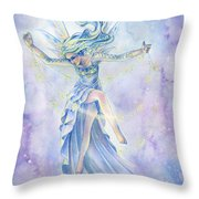 Star Dancer Throw Pillow