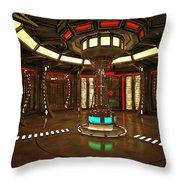 Star Drive Accelerator Throw Pillow