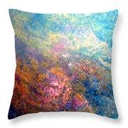 Star Dust Throw Pillow by Karunita Kapoor
