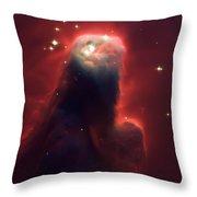 Star Former Cone Nebula Throw Pillow