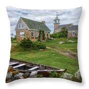 Star Island Dory Throw Pillow