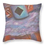 Star Kachina Throw Pillow