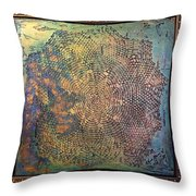 Star Masterpiece By Alfredo Garcia Art Throw Pillow