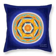 Star Of Energy Throw Pillow