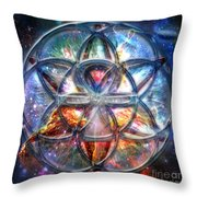 Star Seed Throw Pillow