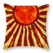 Star Shine Throw Pillow
