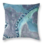 Star Sign Scorpio As A Dragon Throw Pillow