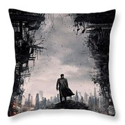 Star Trek Into Darkness  Throw Pillow by Movie Poster Prints