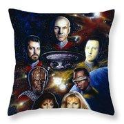Star Trek Tng Throw Pillow