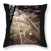 Star Walk Throw Pillow