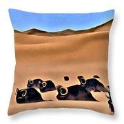 Star Wars Desert Animals Throw Pillow