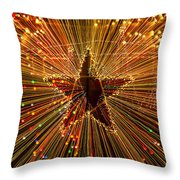 Star Zoom  Throw Pillow