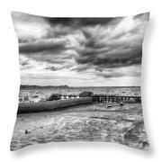 Starcross Harbor Throw Pillow
