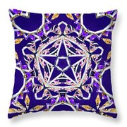 Stardriver Throw Pillow