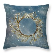 Stardust And Pearls Throw Pillow