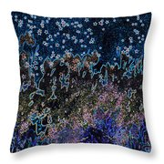Stardust By Jrr Throw Pillow
