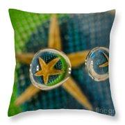 Starfish Refraction Throw Pillow