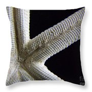 Starfish Underworld Throw Pillow