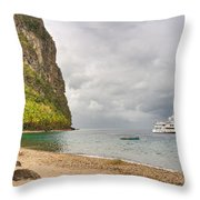Stargazer Yacht Throw Pillow