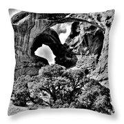 Stark Double Arch Throw Pillow