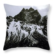 Stark Himalayas Throw Pillow