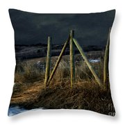 Starless Canadian Sky Throw Pillow