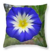 Starry Blue Enchantment Throw Pillow