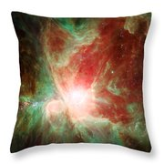Stars And Orion's Sword 2 Throw Pillow