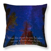 Stars Light Star Bright Fine Art Photography Prints And Inspirational Note Cards Throw Pillow