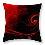 Stars Locked In Immortal Embrace Throw Pillow