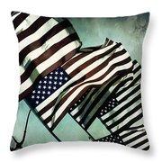 Stars N  Stripes Throw Pillow