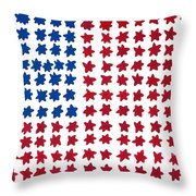 Stars No Stripes Throw Pillow