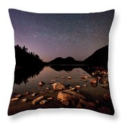 Stars Over The Bubbles Throw Pillow by Brent L Ander