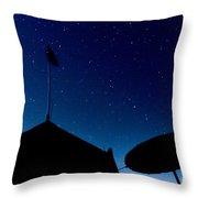 Stars Throw Pillow by Stelios Kleanthous