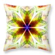 Starseed Rainbow Throw Pillow