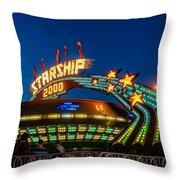 Starship 2000 Throw Pillow