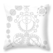 Starship Throw Pillow