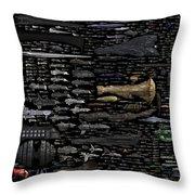 Starships... Throw Pillow