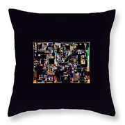 Start With Alef 16 Throw Pillow