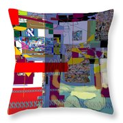 Wiping Out The Language Of Amalek 1a Throw Pillow