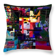 Start With Alef 7f Throw Pillow