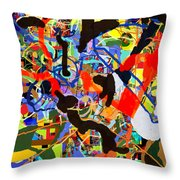 Wiping Out The Language Of Amalek 9dbg Throw Pillow