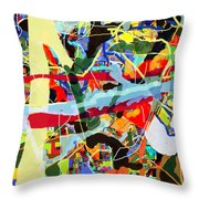 Wiping Out The Language Of Amalek 9dbh Throw Pillow