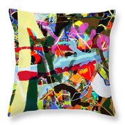 Wiping Out The Language Of Amalek 9dbi Throw Pillow