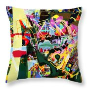 Wiping Out The Language Of Amalek 9dbk Throw Pillow