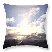 Starting A New Day Throw Pillow by Garren Zanker