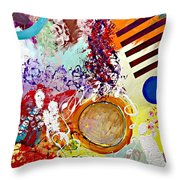 Starting Anew Throw Pillow