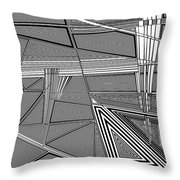 Startle Throw Pillow